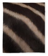 Zebra Stripes Fleece Blanket