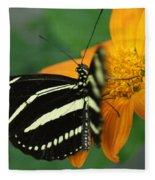Zebra Wing Profile...   # Fleece Blanket