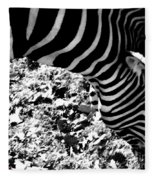 Zebra2 Fleece Blanket