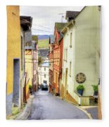 Zell Mosel Village Germany Fleece Blanket