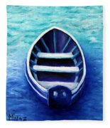 Zen Boat Fleece Blanket