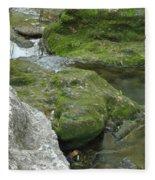 Zen Creek Rocky Scenery Fleece Blanket