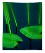 Zen Photography Green  Fleece Blanket