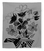 Zentangle 16-01 Fleece Blanket