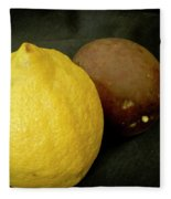 Zesty Group Is Lemon And Passion Fruit. Fleece Blanket