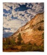 Zion Afternoon Fleece Blanket