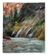 Zion Canyon Fleece Blanket
