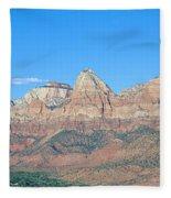Zion National Park, Valley View Fleece Blanket