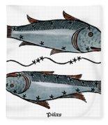 Zodiac: Pisces, 1482 Fleece Blanket