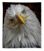 Zombie Eagle Look Fleece Blanket