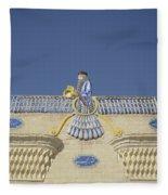 Zorastrian Fire Temple, Iran Fleece Blanket