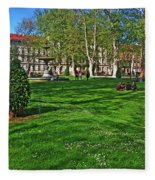 Zrinski Park Fleece Blanket