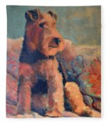 Zuzu Fleece Blanket