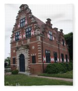 Zwaanendael Museum Fleece Blanket