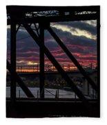008 - Trestle Sunset Fleece Blanket