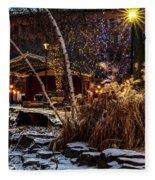033 - Mears In Winter Fleece Blanket