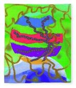 1-9-2012abcdefghij Fleece Blanket