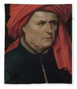 A Man  Fleece Blanket