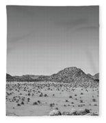African Desert Panorama Fleece Blanket
