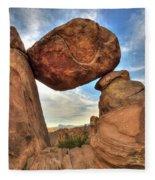 Balanced Rock Fleece Blanket