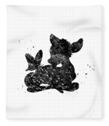 Bambi Fleece Blanket