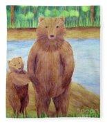 Bears Fleece Blanket