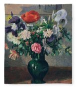 Bouquet Of Flowers, 1898 Fleece Blanket