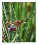 Buckeye Butterflies Fleece Blanket