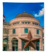 Bullock Texas State History Museum Fleece Blanket