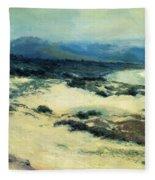 Carmel Shore 1919  Fleece Blanket