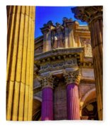 Columns Of The Palace Of Fine Arts Fleece Blanket