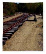 Ellsworth Tracks  Fleece Blanket