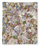 Floral Art Fleece Blanket