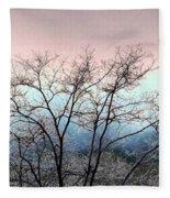 Frosty Limbs Fleece Blanket