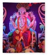Ganesha3 Fleece Blanket