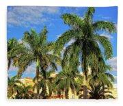 Glorious Palms Fleece Blanket