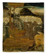 Goddess Of Chaste Love  Fleece Blanket