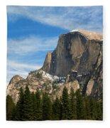 Half Dome, Yosemite National Park Fleece Blanket