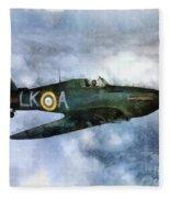 Hawker Hurricane, Wwii Fleece Blanket