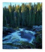 Hepokongas Waterfall Fleece Blanket