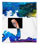 Horseman Fleece Blanket