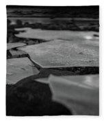 Ice Layer On The Seafloor Fleece Blanket