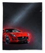 Jaguar F-type Fleece Blanket