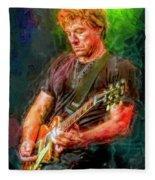 Jon Bon Jovi Fleece Blanket