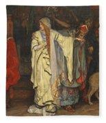 King Lear  Act I  Scene I  Fleece Blanket