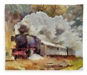 Kylltal Railway  Fleece Blanket