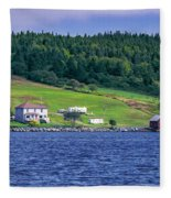 Lahave, Nova Scotia Fleece Blanket