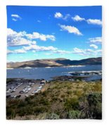 Lake Pleasant Az 16 Fleece Blanket