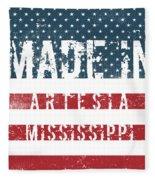 Made In Artesia, Mississippi Fleece Blanket