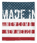 Made In Newcomb, New Mexico Fleece Blanket
